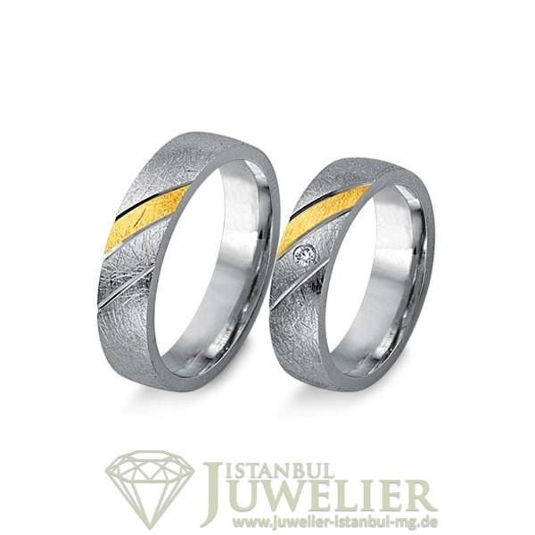 Juwelier Istanbul in Moenchengladbach Fides Kollektion Gold Trauringe - 8003