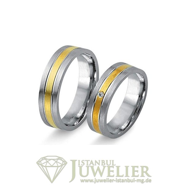 Juwelier Istanbul in Moenchengladbach Fides Kollektion Gold Trauringe - 8014